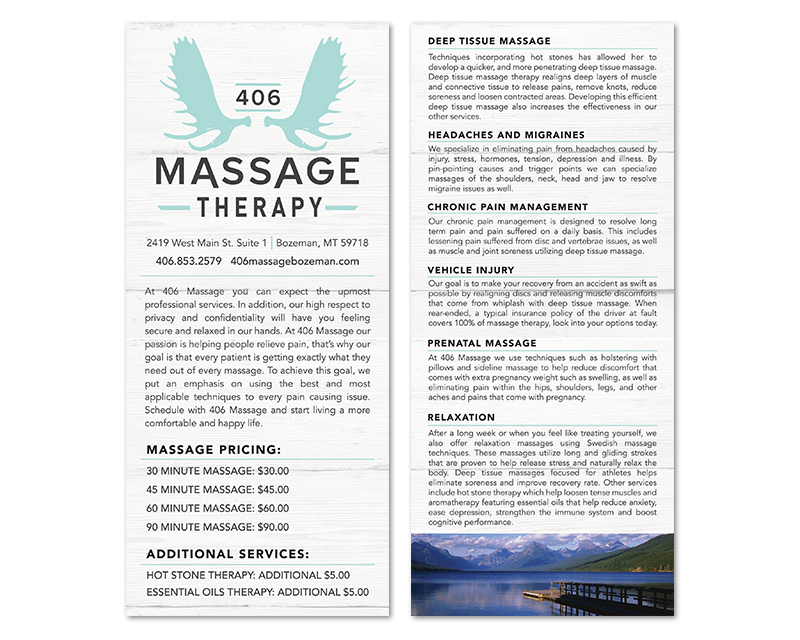 406 Massage Therapy Insight